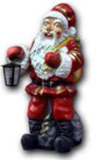 Santa Claus with lamp K262