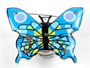Flashing magnet butterfly