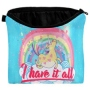Kosmetiktasche mit Motiv Einhorn I have it all multicolor