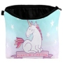 Kosmetiktasche mit Motiv Einhorn & Always be a unicorn