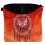 Cosmetic bag with motive Dreamcatcher Fox