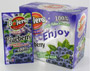 Bolero fruit beverage powder blueberry