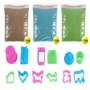 Magic sand 3 pack and 12 shapes 03