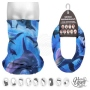 Multifunctional cloth 9 in 1 Multi-purpose scarf Whale dolphins