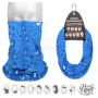 Multifunctional cloth 9 in 1 Multi-purpose scarf Water drop MF-2