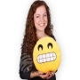 Pillow Emoticon Emoji-Con grins
