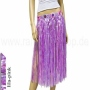 Hawaii Bast skirts long purple/pink