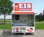 Selling trailer Ice cream 2,50 m