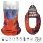 Multifunctional cloth 9 in 1 Multi-purpose scarf Water color MF-