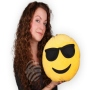 Pillow Emoticon Emoji-Con cool