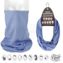 Multifunctional cloth 9 in 1 Multi-purpose scarf plain colors MF