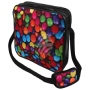 Messenger Bag Motif Chocolate lentils colorful