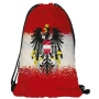 Gym bag Gymsac Design Austria red/white