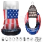 Multifunctional cloth 9 in 1 Multi-purpose scarf US flag MF-281