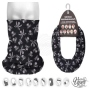Multifunctional cloth 9 in 1 Multi-purpose scarf Skulls MF-275