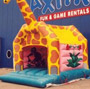 Jumping castle Giraffe