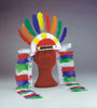 Chief feather headdress