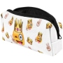 Pencil Case, Feather sleeve Design Emoticon King