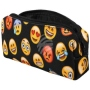 Pencil Case Feather sleeve Design Emoticons