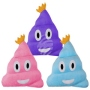 Emoticon pillow sorting Heap with crowns