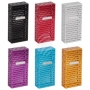 Sorting cigarettes box metal perforated multicolored