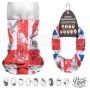 Multifunctional cloth 9 in 1 Multi-purpose scarf Union Jack MF-1