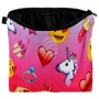Cosmetic bag with motive Unicorn and Emoticon