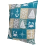 Motif pillows Maritim angular