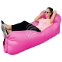 Air lounge air couch with bag pink
