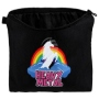 Cosmetic bag with motive Unicorn and Heavy Metal