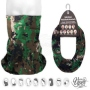 Multifunctional cloth 9 in 1 Multi-purpose scarf Digital Camoufl